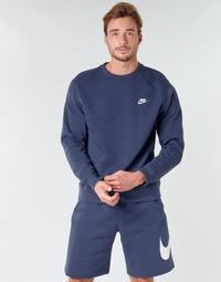 Odjeća Muškarci  Sportske majice Nike M NSW CLUB CRW BB Blue