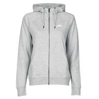 Odjeća Žene  Sportske majice Nike W NSW ESSNTL HOODIE FZ FLC Siva