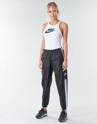 Odjeća Žene  Donji dio trenirke Nike W NSW PANT WVN Crna