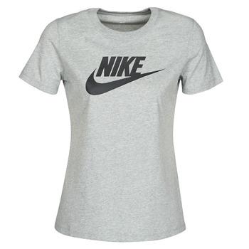 Odjeća Žene  Majice kratkih rukava Nike W NSW TEE ESSNTL ICON FUTUR Siva