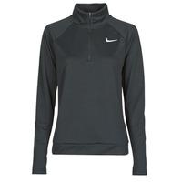 Odjeća Žene  Majice dugih rukava Nike W NK PACER HZ Crna