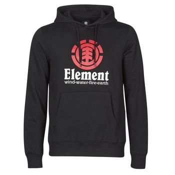 Odjeća Muškarci  Sportske majice Element VERTICAL HOOD Crna