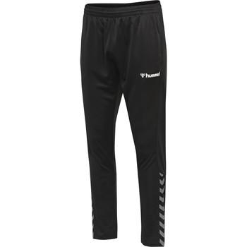 Odjeća Donji dio trenirke Hummel Pantalon  hmlAUTHENTIC Poly noir/blanc