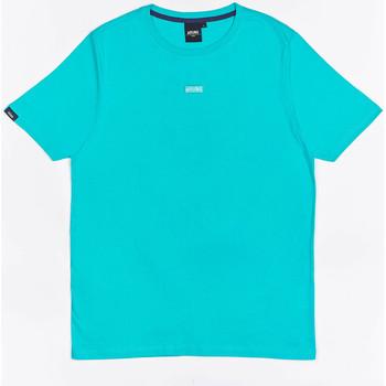Odjeća Dječak  Majice kratkih rukava Wrung T-shirt  Caution Reload bleu turquoise/bleu