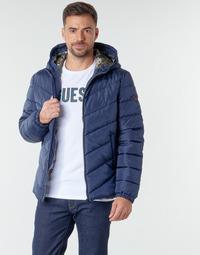Odjeća Muškarci  Pernate jakne Guess SUPER LIGHT PUFFA JKT Blue