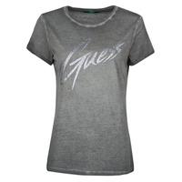 Odjeća Žene  Majice kratkih rukava Guess SS CN IVONNE TEE Crna