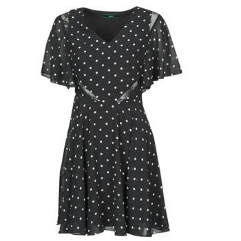 Odjeća Žene  Kratke haljine Guess ELLA DRESS Crna / Bijela
