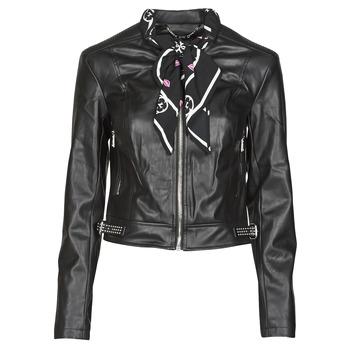 Odjeća Žene  Kožne i sintetičke jakne Guess NEW JONE JACKET Crna