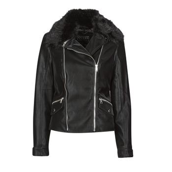 Odjeća Žene  Kožne i sintetičke jakne Guess CANTARA Crna