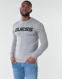 Odjeća Muškarci  Puloveri Guess LOGO SWEATER Siva
