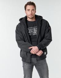 Odjeća Muškarci  Kratke jakne Guess NAUGHTY BOMBER Crna