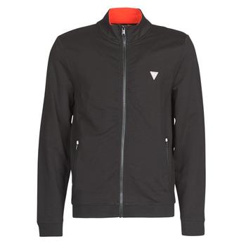 Odjeća Muškarci  Sportske majice Guess AL TRUCK FLEECE Crna