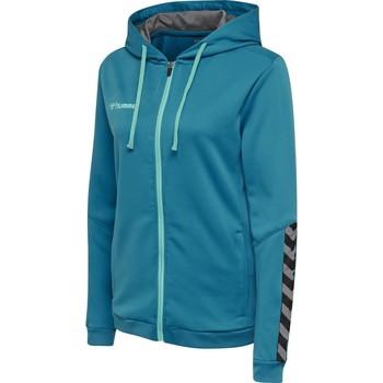 Odjeća Žene  Sportske majice Hummel Sweatshirt femme  zip hmlAUTHENTIC Poly bleu