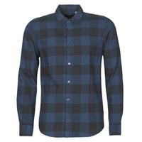 Odjeća Muškarci  Košulje dugih rukava Only & Sons ONSGUDMUND Crna