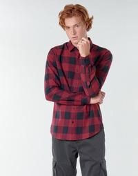 Odjeća Muškarci  Košulje dugih rukava Only & Sons  ONSGUDMUND Bordo / Crna