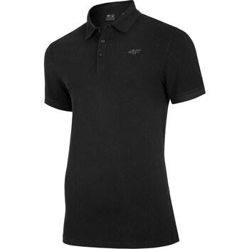 Odjeća Muškarci  Polo majice kratkih rukava 4F TSM008 Crna