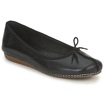 Obuća Žene  Balerinke i Mary Jane cipele Clarks FRECKLE ICE Crna