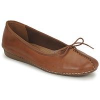 Obuća Žene  Balerinke i Mary Jane cipele Clarks FRECKLE ICE Smeđa