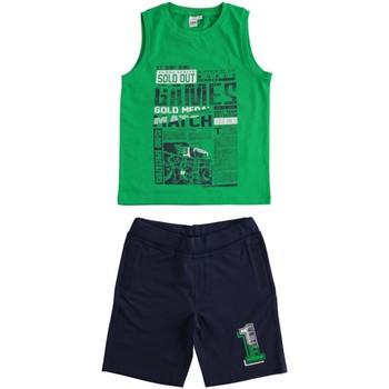 Odjeća Dječak  Dječji kompleti Ido 4J019 Verde/blu
