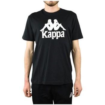 Odjeća Muškarci  Majice kratkih rukava Kappa Caspar Tshirt Crna