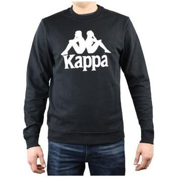 Odjeća Muškarci  Sportske majice Kappa Sertum RN Sweatshirt Crna