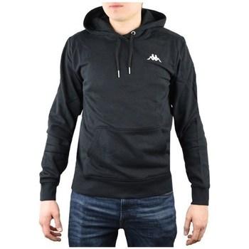 Odjeća Muškarci  Sportske majice Kappa Vend Hooded Crna