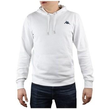 Odjeća Muškarci  Sportske majice Kappa Vend Hooded Bijela