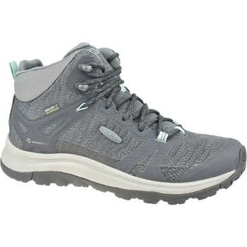Obuća Žene  Pješaćenje i planinarenje Keen W Terradora II Mid WP Siva