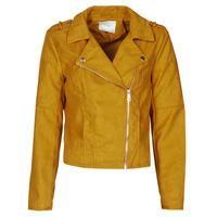 Odjeća Žene  Kožne i sintetičke jakne JDY JDYNEW PEACH Boja senfa