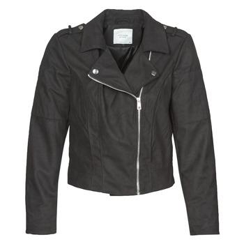 Odjeća Žene  Kožne i sintetičke jakne JDY JDYNEW PEACH Crna
