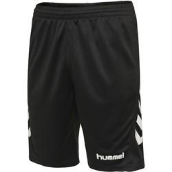 Odjeća Djeca Bermude i kratke hlače Hummel Short enfant  hmlPROMO noir