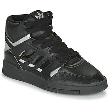 Obuća Niske tenisice adidas Originals DROP STEP Crna / Srebrna