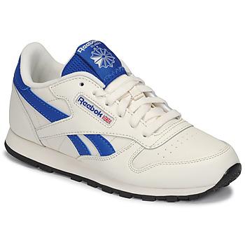 Obuća Djeca Niske tenisice Reebok Classic CLASSIC LEATHER Bijela / Blue