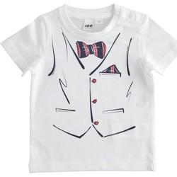 Odjeća Dječak  Majice kratkih rukava Ido 9462721 Bianco