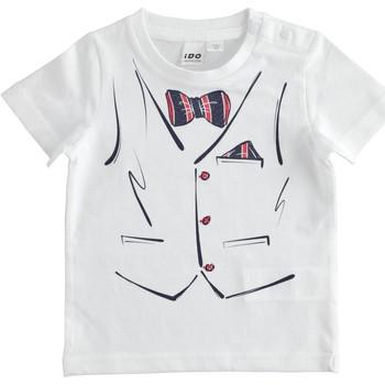 Odjeća Dječak  Majice kratkih rukava Ido 4J692 Bianco