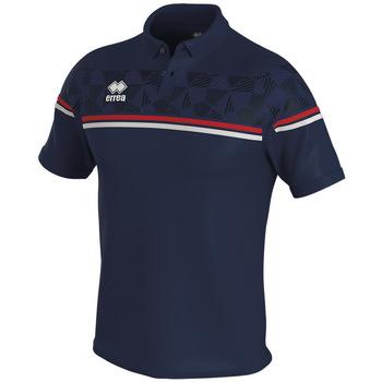 Odjeća Polo majice kratkih rukava Errea Polo  dominic bleu/marine/blanc