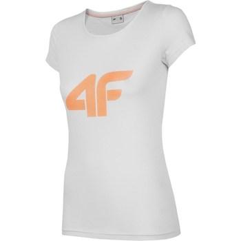 Odjeća Žene  Majice kratkih rukava 4F TSD005 Siva