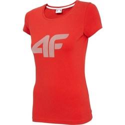Odjeća Žene  Majice kratkih rukava 4F TSD005 Red