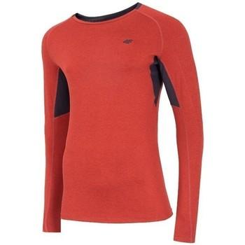 Odjeća Muškarci  Majice dugih rukava 4F TSMLF002 Narančasta
