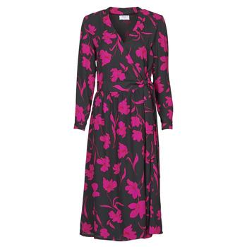 Odjeća Žene  Duge haljine Betty London NOLIE Crna / Ružičasta