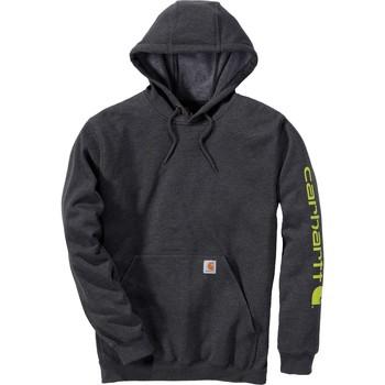 Odjeća Sportske majice Carhartt Sweatshirt à capuche  Logo gris carbone