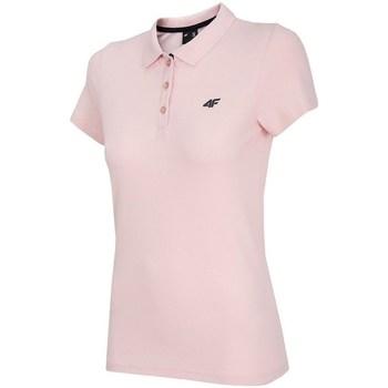 Odjeća Žene  Polo majice kratkih rukava 4F TSD007 Ružičasta