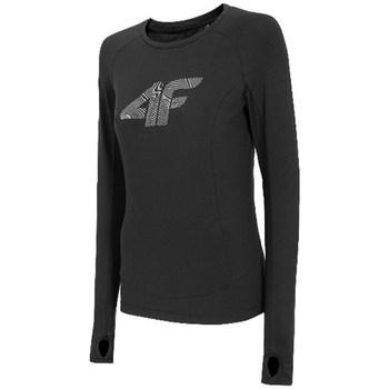 Odjeća Žene  Majice dugih rukava 4F TSDLF001 Crna