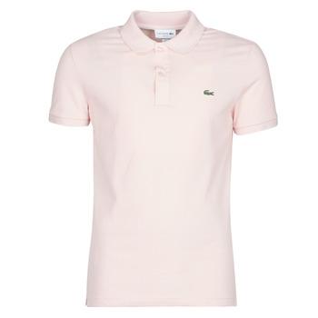 Odjeća Muškarci  Polo majice kratkih rukava Lacoste PH4012 SLIM Ružičasta