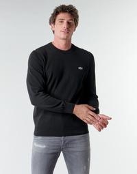 Odjeća Muškarci  Puloveri Lacoste AH1985 Crna