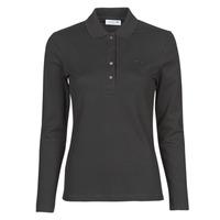 Odjeća Žene  Polo majice dugih rukava Lacoste PF5464 Crna