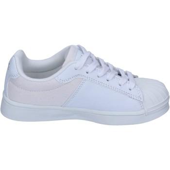 Obuća Dječak  Modne tenisice Beverly Hills Polo Club sneakers tessuto pelle sintetica Bianco