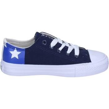 Obuća Dječak  Modne tenisice Beverly Hills Polo Club sneakers tela Blu
