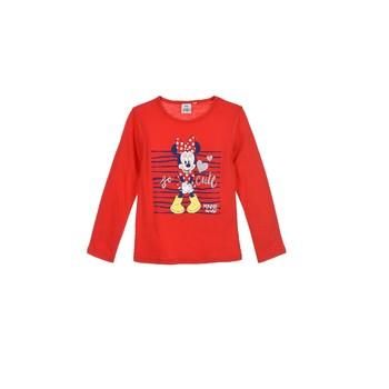 Odjeća Djevojčica Majice dugih rukava TEAM HEROES  MINNIE Red