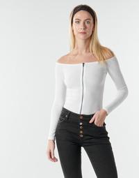 Odjeća Žene  Topovi i bluze Moony Mood NOAM Bijela